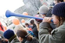 Antifaschistischer Protest trotz Demonstrationsverbot in Berlin