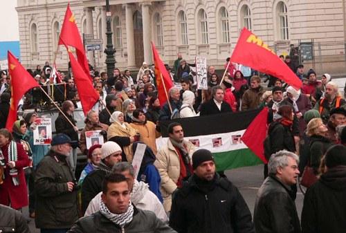 Erneut bundesweite Protestaktionen gegen den Krieg in Gaza