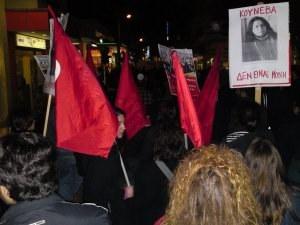Griechenland: Protest- und Solidaritätsbewegung gegen feigen Säureanschlag auf kämpferische Gewerkschafterin