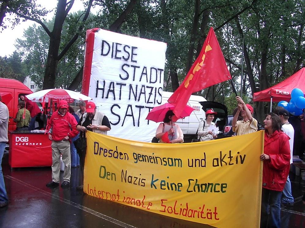 Am 14. Februar in Dresden: Den Faschisten keinen Fussbreit!