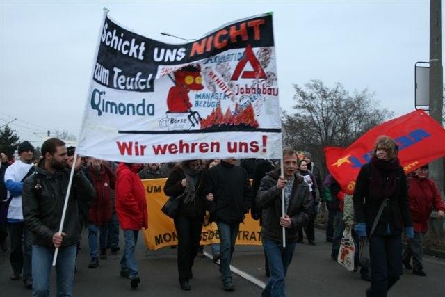 München: Protest von Infineon-Kollegen