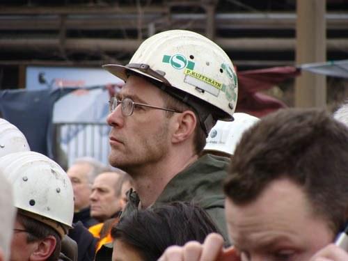 Der Klärungsbedarf unter den Stahlarbeitern ist noch groß