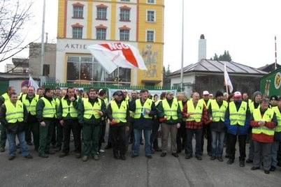Warnstreiks in bayrischen Brauereien