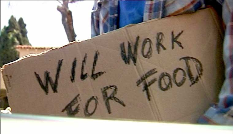 Weltwirtschaftskrise: Hunger und drastisch wachsende Arbeitslosigkeit in den USA
