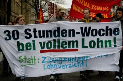 Demonstrationen gegen Abwälzung der Krisenlasten in mehreren europäischen Städten