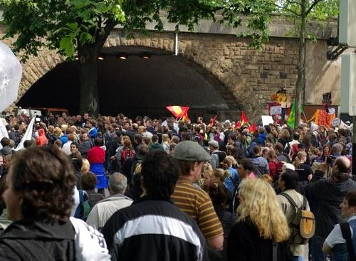 """Erfolgreicher antifaschistischer Protest gegen """"Pro NRW""""-Hetzkongress in Köln"""