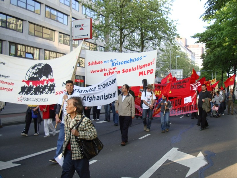 Kundgebung am 1. Mai in Rotterdam voller Erfolg