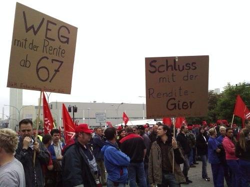 """Aktionswochen der IG Metall: """"Berlin, Berlin - wir fahren nach Berlin"""""""