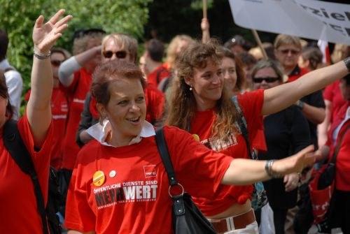Streiks der kommunalen Erzieherinnen und Erzieher gehen in die vierte Woche