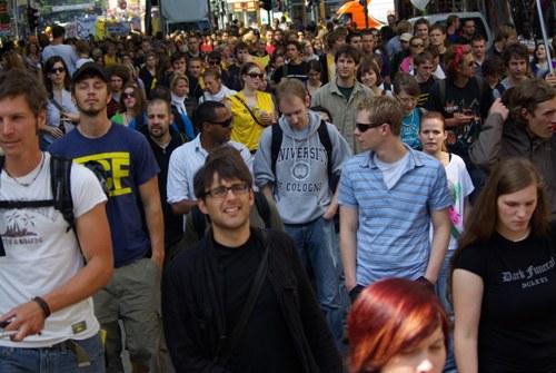 Über 250.000 bei bundesweiten Bildungsprotesten auf der Straße