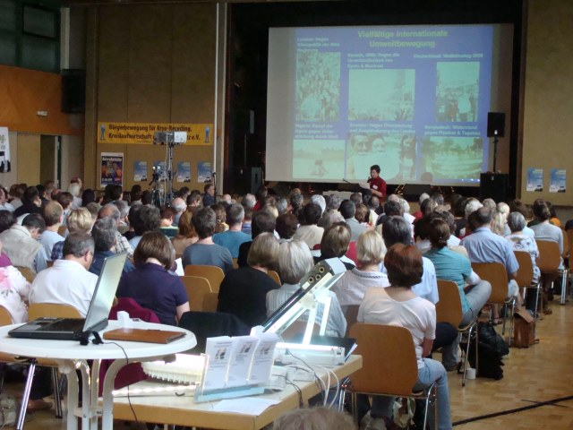Umweltratschlag in Gelsenkirchen mit rund 300 Besuchern eröffnet