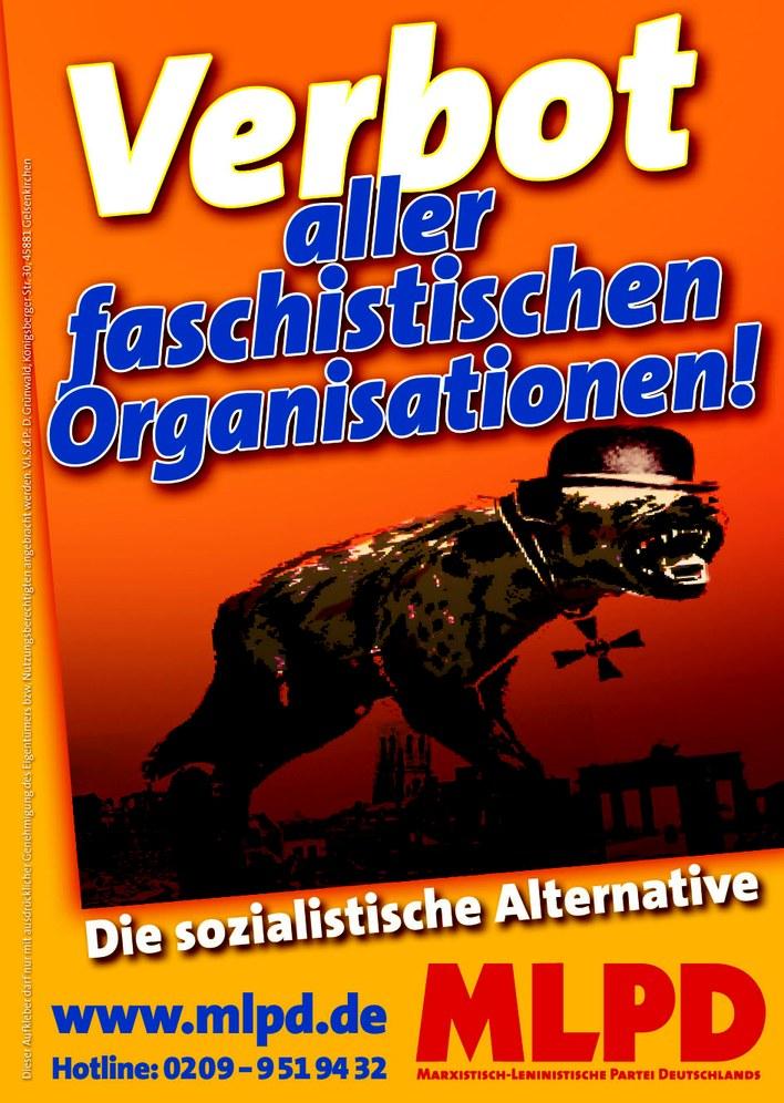 CDU-Politiker in Thüringen von NPD bedroht - Verbot aller faschistischen Organisationen überfällig!