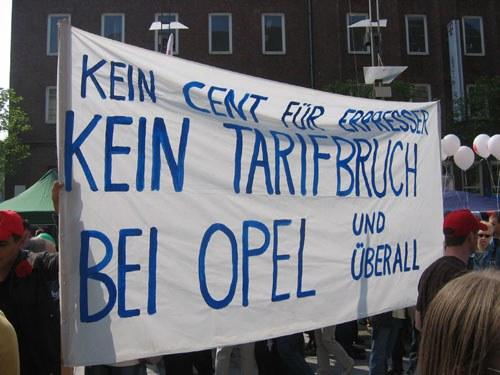 Erfolg der Kleinarbeit der kämpferischen Opelaner - Betriebsvereinbarungen zum Urlaubsgeld widerrufen