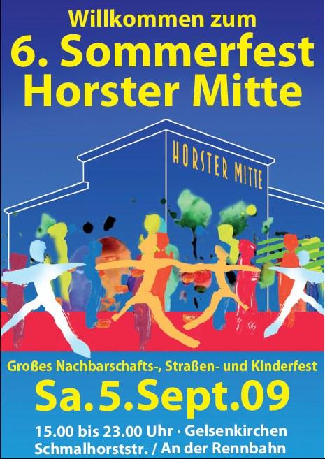 """Spannende Diskussionen auf dem """"Horster Mitte""""-Fest"""