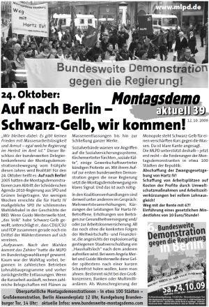 """""""Auf nach Berlin - Schwarz-Gelb wir kommen!"""""""