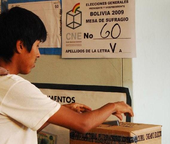 Überragender Wahlsieg für Boliviens Präsident Evo Morales