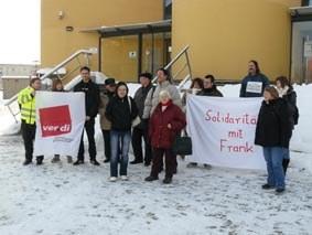 """Halle: """"Wir werden die Solidarität weiter organisieren!"""""""