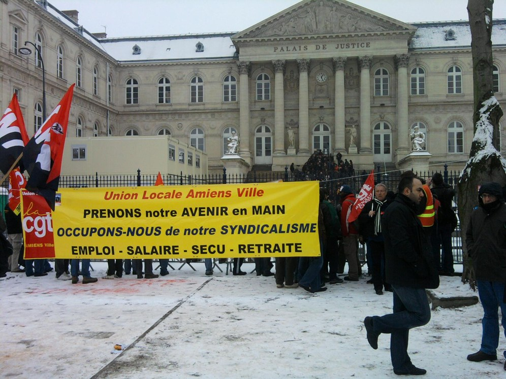 Internationale Solidarität gegen die Kriminalisierung der Arbeiterkämpfe