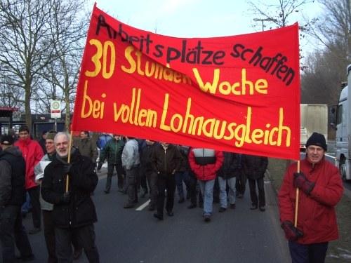 Selbständiger Streik bei Daimler in Bremen