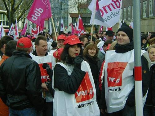15.000 bei Verdi-Kundgebung in Hannover - große Sympathie für die Streikenden unter der Bevölkerung