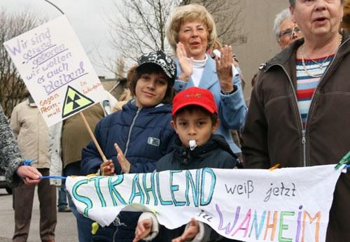 Duisburg-Wanheim: Bewohner wollen Bedrohungen durch Atomtransporte nicht länger hinnehmen