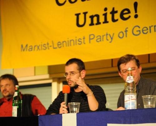 """""""Heute sind wir alle Griechen"""" - Solidaritätsveranstaltung der MLPD zu Griechenland"""
