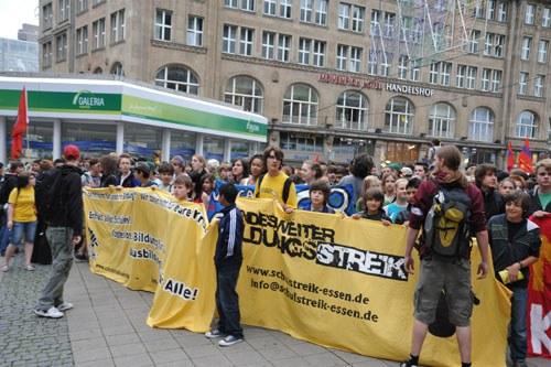 """Essen: """"Die wichtigen Bildungsgipfel finden auf der Straße statt"""""""