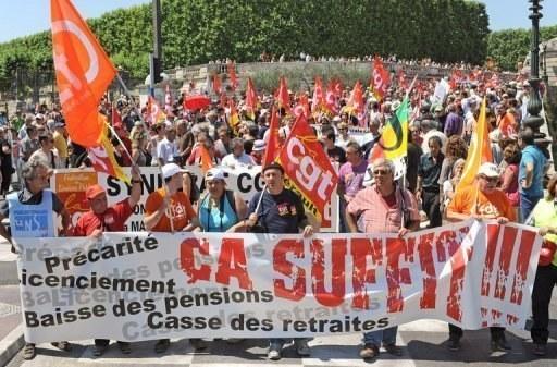Frankreich: Zwei Millionen protestieren gegen Rentenpläne