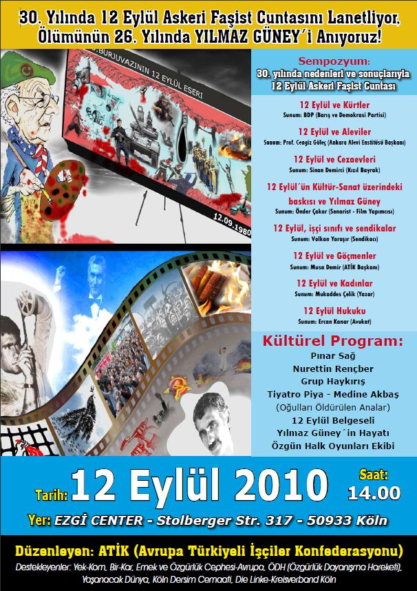 Großveranstaltung anlässlich des 30. Jahrestages des Militärputsch in der Türkei