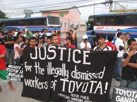 Toyota Philippinen: Zehn Jahre Kampf für Wiedereinstellung