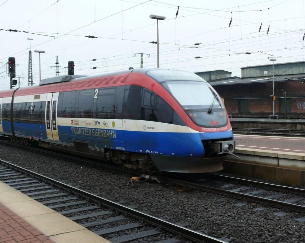 Warnstreiks im Regionalverkehr - Eisenbahner kämpfen gegen Lohndumping