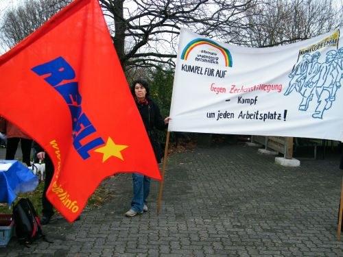 """Erfolgreicher Jugendprotesttag von """"Kumpel für AUF"""" und REBELL"""