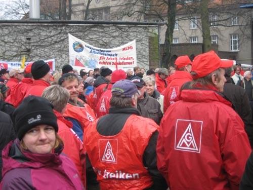 """""""Tag der Solidarität"""" mit den streikenden Atlas-Beschäftigten"""