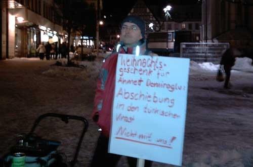 Spontandemo gegen Abschiebung von Ahmed Demiroglu