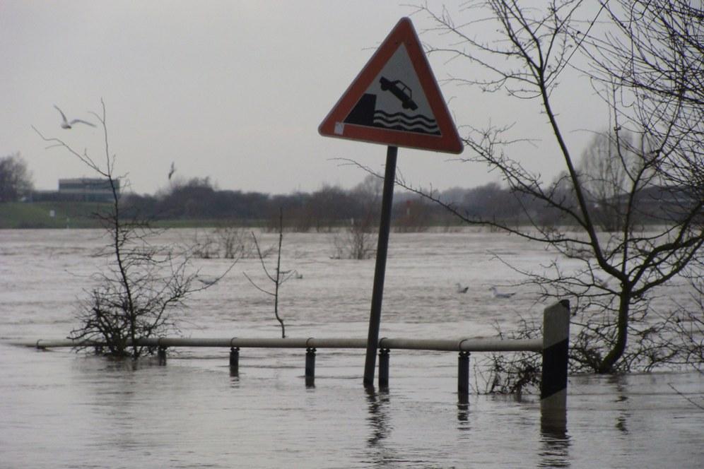 Ganz Mitteleuropa von Überflutungen bedroht