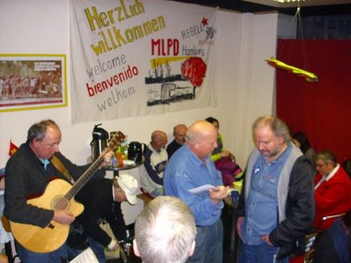 Neujahrsempfang der MLPD Nord-West: Mit Stolz ins Jahr 2011