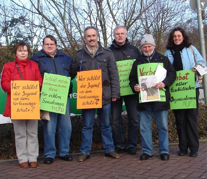 """Erfolgreicher Protest gegen Ausstellung des """"Verfassungsschutzes"""""""