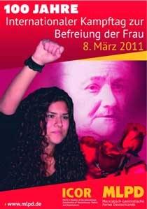8. März 2011: Setzen wir ein Signal für die Befreiung der Frau im 21. Jahrhundert!