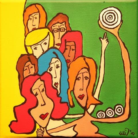 Kasseler Künstlerin unterstützt die Weltfrauenkonferenz der Basisfrauen in Venezuela