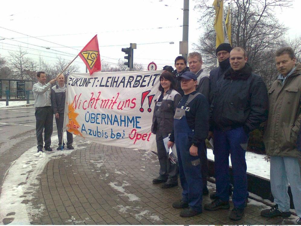 DGB meldet über 200.000 Beteiligte am Aktionstag zur Leiharbeit