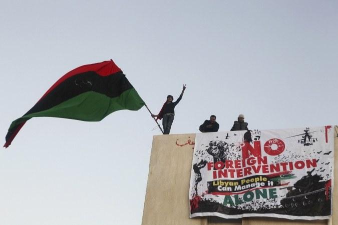 Libyen: Imperialisten rasseln mit dem Säbel