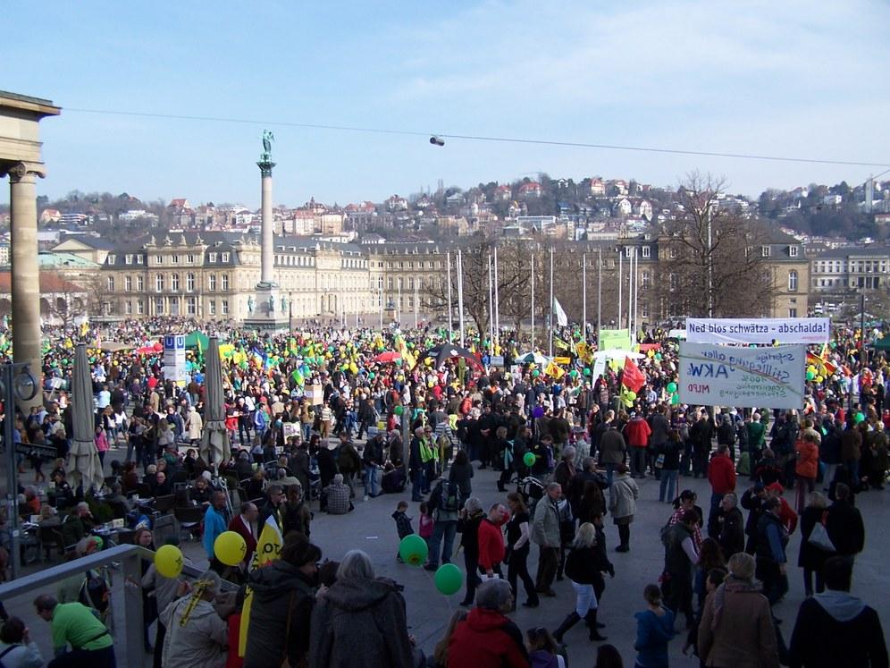 Berichte von Protestaktionen