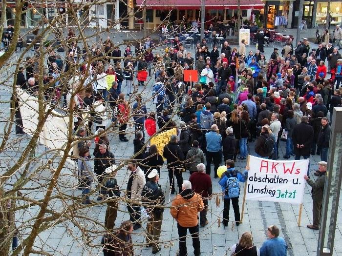 Weitere Berichte von Montagsdemos und Protesten gegen die Atompolitik