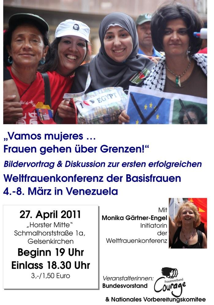 """""""Vamos mujeres ... Frauen gehen über Grenzen"""""""