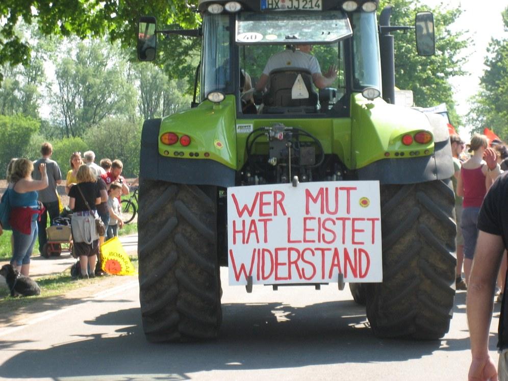 """""""Abschalten sofort"""" Über Hunderttausend auf der Straße gegen Atomkraft"""