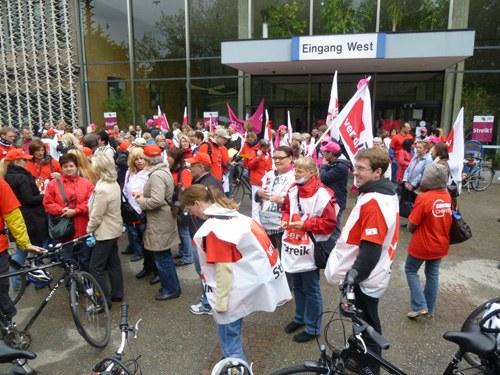 Unbefristeter Streik bei der Charite und CFM in Berlin