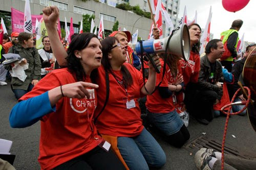 """Charité-Kolleginnen ziehen Streikbilanz: """"Wir sind viel selbstbewusster geworden"""""""