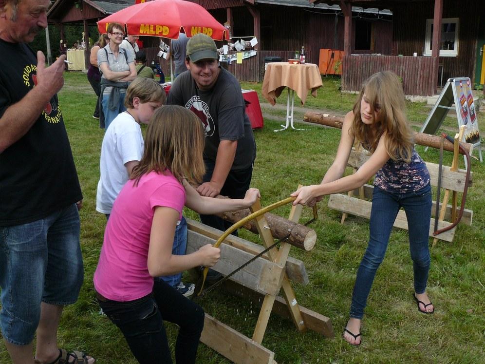 Über 600 Besucher auf dem 9. Waldfest in Truckenthal