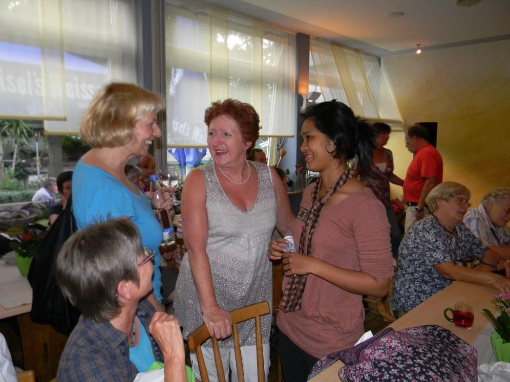 Monika Gärtner-Engel eingeladen in der heimatlichen Provinz