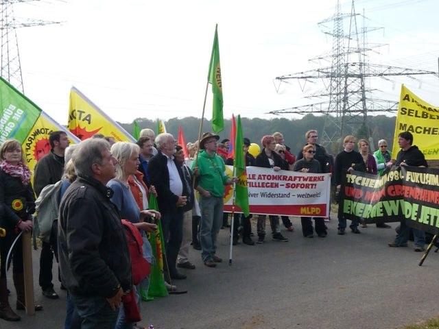 Grafenrheinfeld: Demo für die sofortige Stilllegung aller Atomkraftwerke